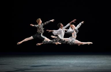 Dancers of American Ballet Theatre perform. © Rosalie O'Connor